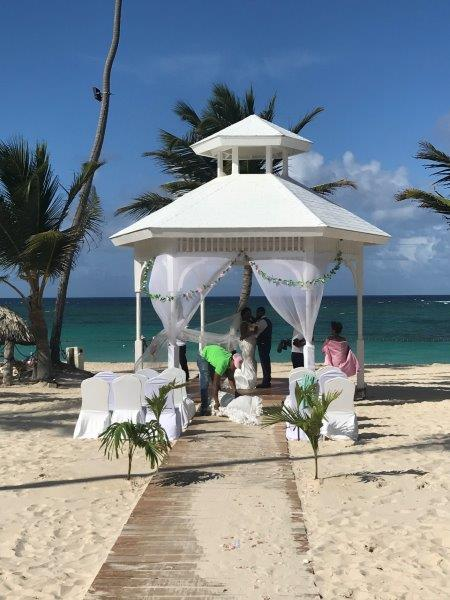 Majestic Mirage Wedding Beach Gazebo