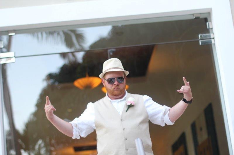 Punta Cana Wedding Groom