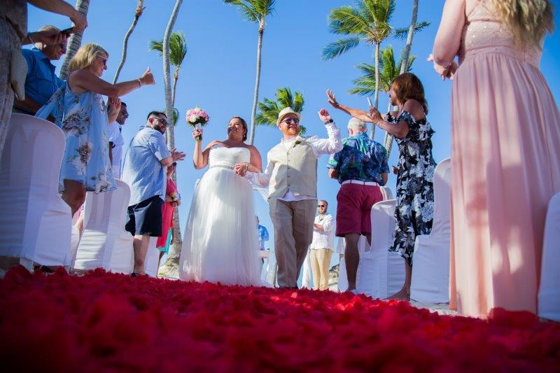 Punta Cana Palm Tree Wedding