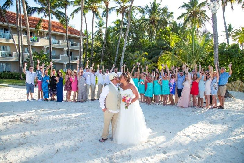 Punta Cana Bride and Groom