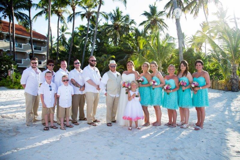 Punta Cana Wedding Party